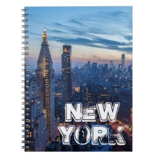 New York City, NY, USA Note Books