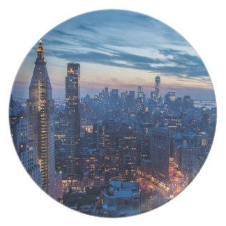 New York City, NY, USA Plate