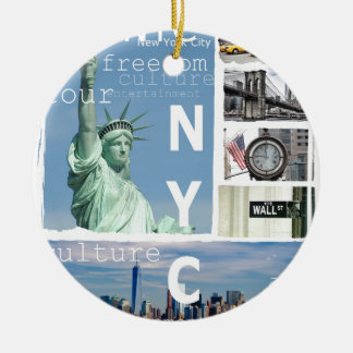 New York City Nyc Christmas Ornament
