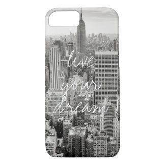 New York City NYC live your dream travel iPhone 8/7 Case