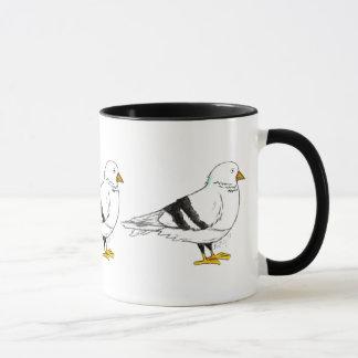 New York City NYC Pigeon Bird Mug