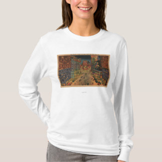 New York City, NYNight View of Times Square T-Shirt