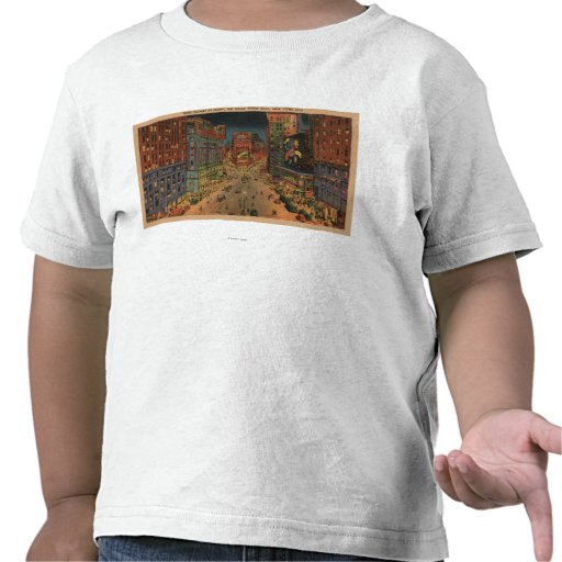 New York City, NYNight View of Times Square Tee Shirt