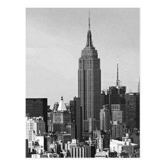 New York City Panorama Postcard