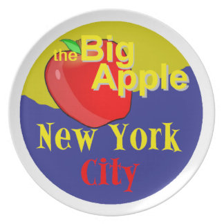 New York City Party Plate