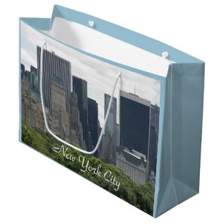 New York City Photo Large Gift Bag