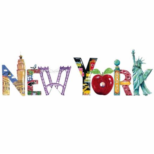 New York City photo sculpture