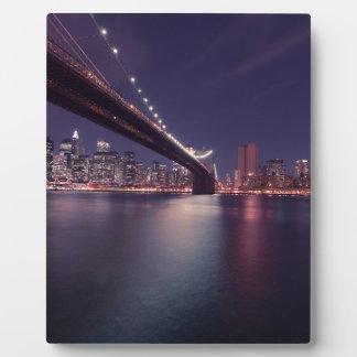new-york-city plaque