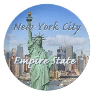 New York City Plate