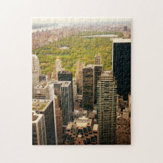 New York City Puzzle - Central Park and Skyline