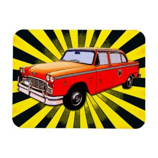 New York City Retro Taxi Cab Magnet