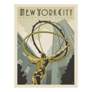 New York City | Rockefeller Center Postcard