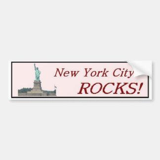 New York City Rocks Bumper Stickers