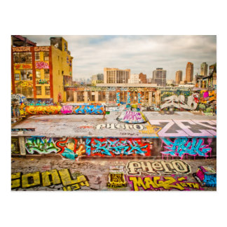 New York City's graffiti site Postcard