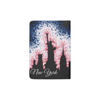New York City Silhouette Passport Holder