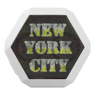 New York City Silver Gold Glitters
