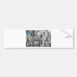 New York City Sky Scrapers Bumper Sticker