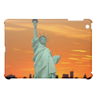 New York City Skyline and The Statue of Liberty Cover For The iPad Mini