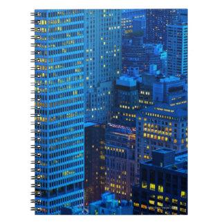 New York City Skyline at Sunset Notebook