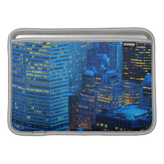 New York City Skyline at Sunset Sleeve For MacBook Air