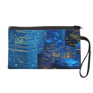 New York City Skyline at Sunset Wristlet