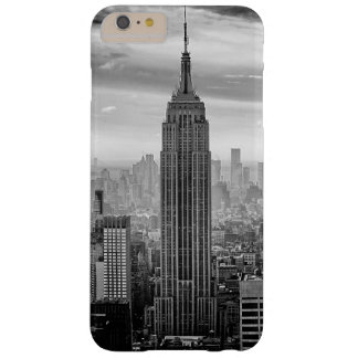 New York City skyline black and white Barely There iPhone 6 Plus Case