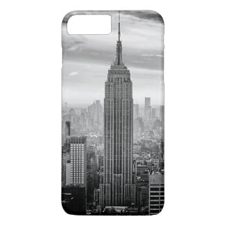 New York City skyline black and white iPhone 7 Plus Case