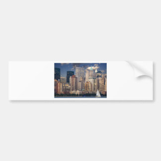 New York City Skyline Bumper Stickers