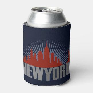 New York City Skyline Can Cooler