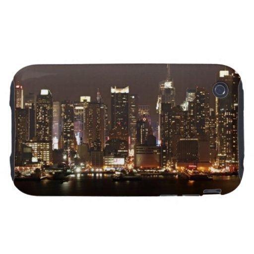 New York City Skyline Tough iPhone 3 Covers