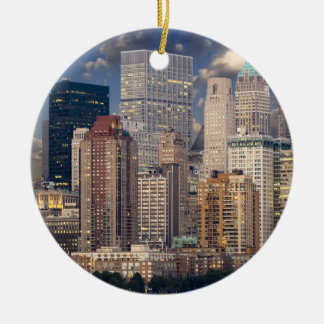 New York city skyline Christmas Ornament