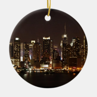 New York City Skyline Christmas Ornament