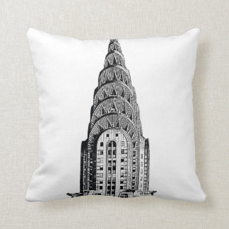 New York City Skyline: Chrysler Building Dome Cushion
