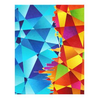 New York City Skyline Cityscape Full Color Flyer