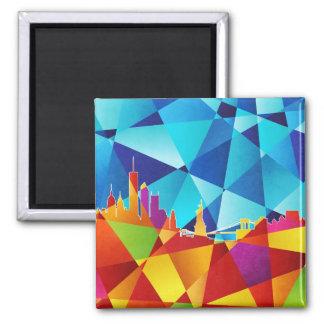 New York City Skyline Cityscape Magnets