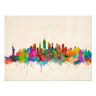 New York City Skyline Cityscape Photo