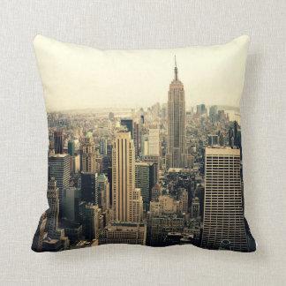 New York City Skyline Cushion