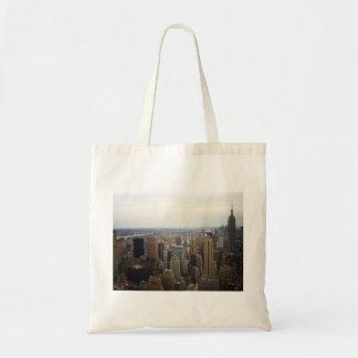 New York City Skyline, Day View Canvas Bag