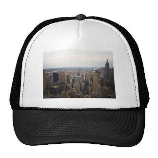 New York City Skyline, Day View Mesh Hats