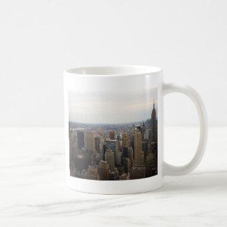 New York City Skyline, Day View Classic White Coffee Mug