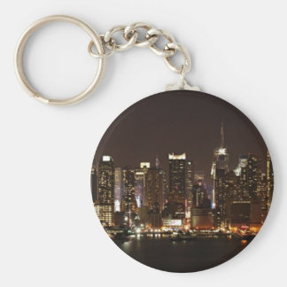 New York City Skyline Key Ring
