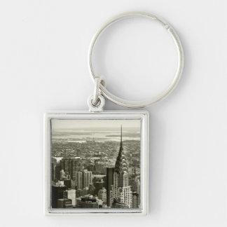 New York City Skyline Key Ring