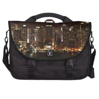 New York City Skyline Laptop Commuter Bag