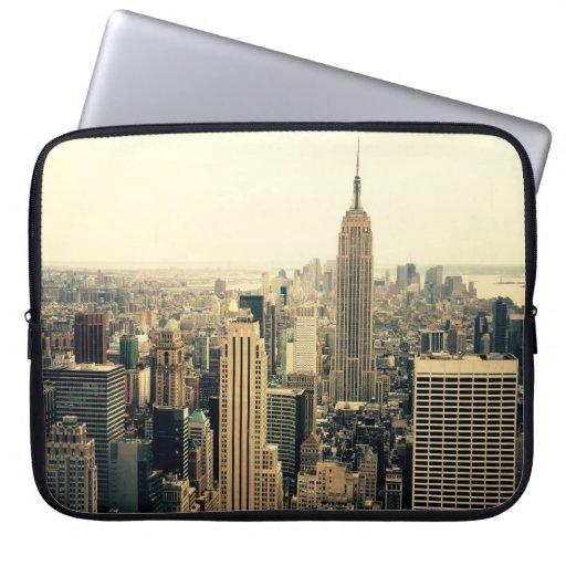 New York City Skyline Computer Sleeves