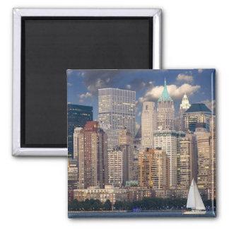 New York city skyline Refrigerator Magnets