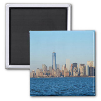New York city skyline Fridge Magnets