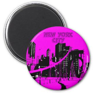 NEW YORK CITY SKYLINE MAGNET