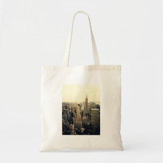 New York City Skyline Midtown Budget Tote Bag