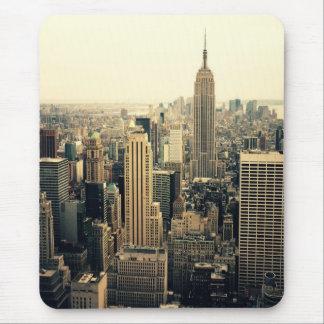 New York City Skyline Midtown Mouse Mat