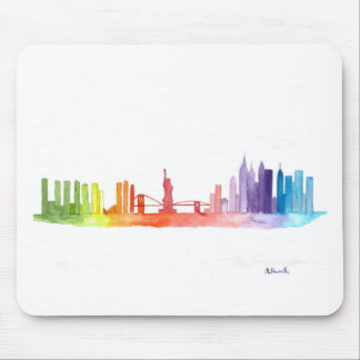 NEW YORK CITY skyline Mouse Mat